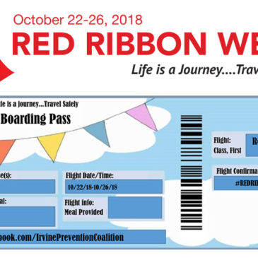 Red Ribbon Week: Oct. 22-26
