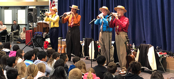The Perfect Gentlemen – Eastshore Assembly Today!